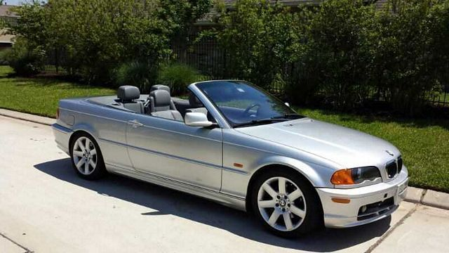 2001: BMW, 3 Series, 325Ci, 2 Dr 325Ci Convertible