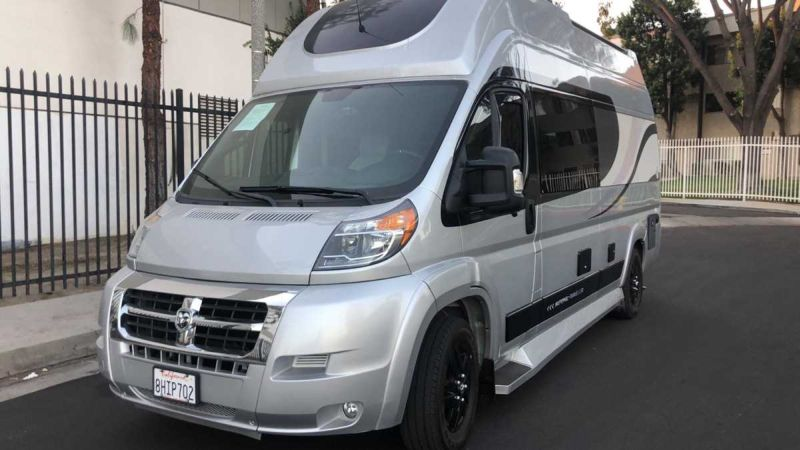 2019 Ram Promaster Window