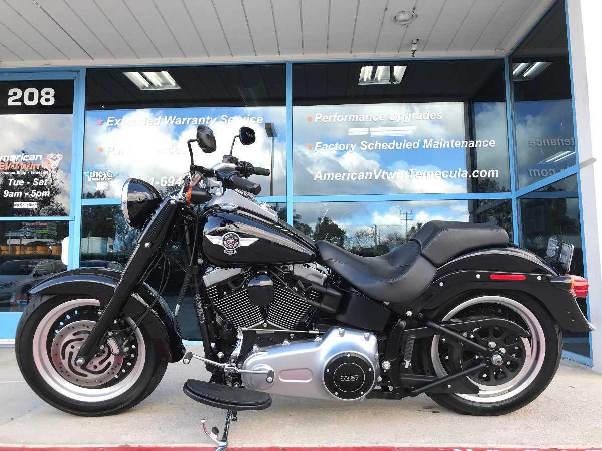 2012 Harley-davidson Softail Fat Boy Lo