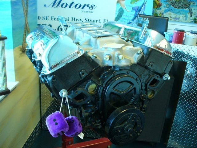 1965 Chevrolet 409 Engine