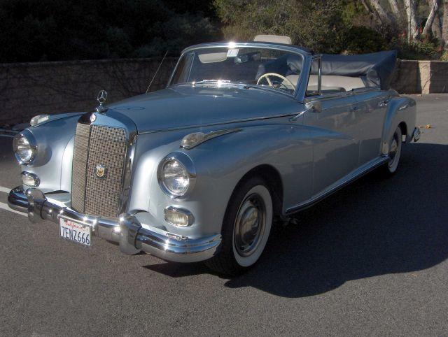 1958 Mercedes 300 D