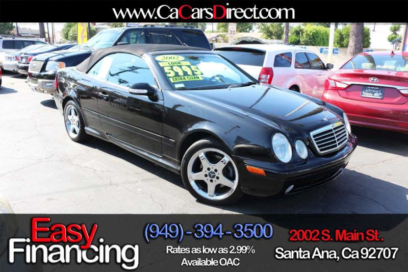 Used mercedes benz clk class for sale los angeles ca for Mercedes benz dealers in los angeles